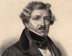 Луи Дагер, французский художник, один из создателей фотографии